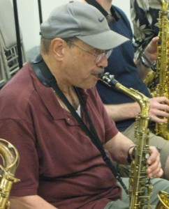 Bob Porcelli, Lead Alto (Photo by Tim Bayer)