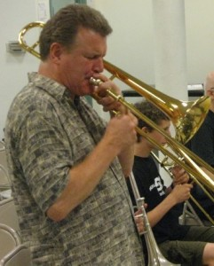 Clint Sharmian, Second Trombone (Photo by Tim Bayer)